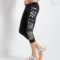 Aeropostale  LLD Signature Crop Leggings