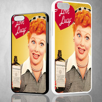 I Love Lucy X0267 iPhone 4S 5S 5C 6 6Plus, iPod 4 5, LG G2 G3, Sony Z2 Case