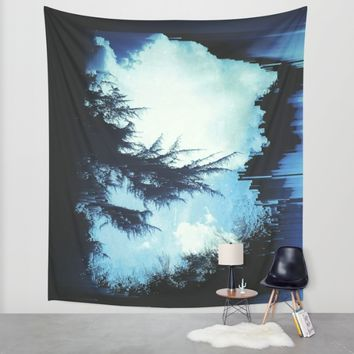 In the Wind Wall Tapestry by Ducky B