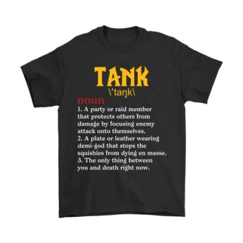 ESBINY Tank Protect Gamer Definition RPG Shirts