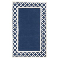 Diamond Border Rug
