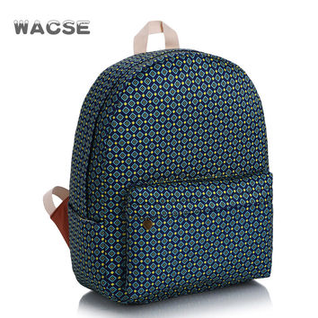 Canvas Korean Casual Stylish Fashion Travel Backpack = 4888001860