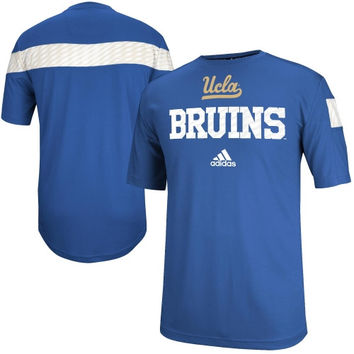 UCLA Bruins adidas 2014 Football Player Sideline Performance Shirt - Royal Blue