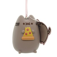 Holiday Ornaments PUSHEEN I LOVE PIZZA Plastic Department 56 4060369