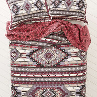 4040 Locust Andean Wave Duvet Cover - Urban Outfitters