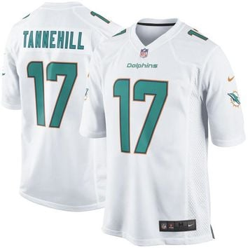 Mens Miami Dolphins Ryan Tannehill Nike White Game Jersey