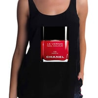 chanel nail polish Tank Top for man, woman S / M / L / XL / 2XL / 3XL*AD*