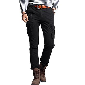 Men's Fashion Slim Cargo Pants