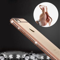 Luxury Rhinestone Frame Case