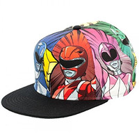 Might Morphin Power Rangers Sublimated Snapback