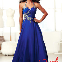 Halter Top Mac Duggal Evening Ball gown 50155H