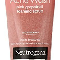Neutrogena Oil-Free Acne Wash Scrub, Pink Grapefruit, Value Size, 6.7 Ounce (Pack of 3)