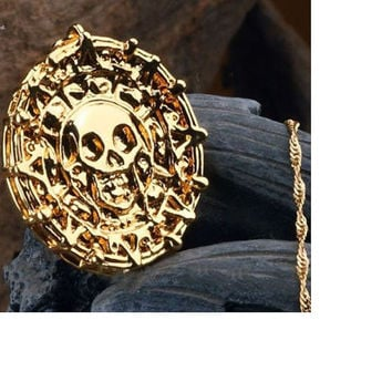 Necklace Skull Man Necklace Bijoux Collier Femme Skull Necklace Man Bijuteria Kolka pirate des caraibes