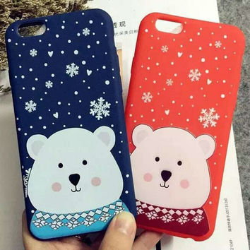 Iphone 6/6s Cute Hot Deal Stylish Hot Sale On Sale Lovely Couple Phone Case [6034143681]