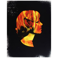 Flaming Woman Notebook