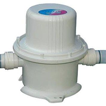 By PoolCentral 220-240 Volt White Above Ground Swimming Pool and Spa Heater Pump