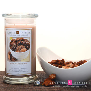 Butter Roasted Pecans Jewelry Candle