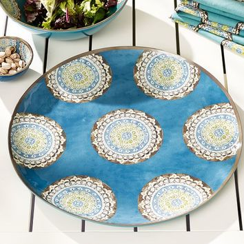 ELSA MEDALLION MELAMINE SERVING PLATTER