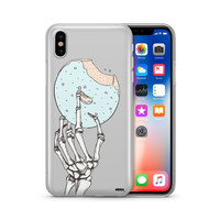 Crane Donut- Clear Case Cover Phone Case