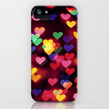 Hearts All Over iPhone Case by Amelia Kay Photography | Society6