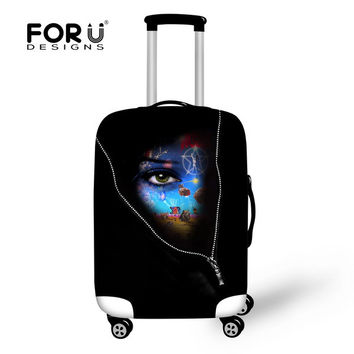 High 3D dustproof suitcase cover for 18-30 inch luggage set,waterproof anti-dust luggage protective cover luggage accessories
