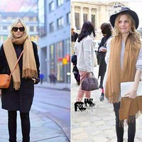 """UGG"" Winter Women wool  Cashmere scarf Fashion"