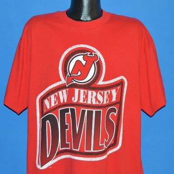 90s New Jersey Devils Hockey t-shirt Extra Large