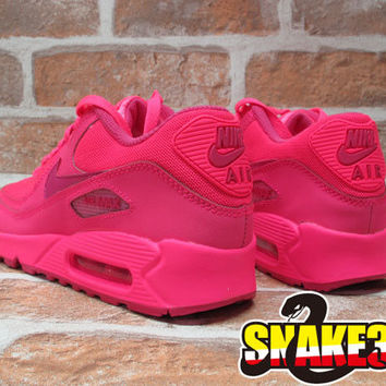 air max 90 hyperfuse neon pink