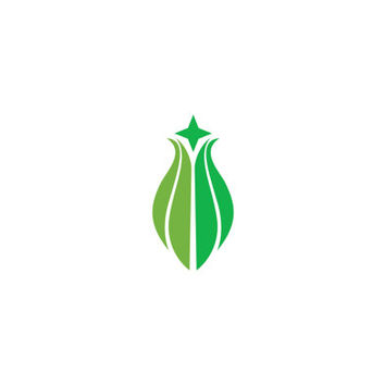 Tulip Bud Color Vector Logo Design Vector for Your Future Business