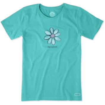 Women's Daisy Crusher Tee