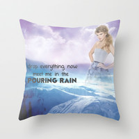 Sparks Fly Throw Pillow by hayimfabulous