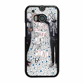 migraine twenty one pilots htc one m7 m8 cases