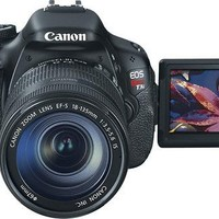 Canon - EOS Rebel T3i 18.0-Megapixel DSLR Camera with 18-55mm Lens - Black - Rebel T3i with 18-55mm Lens - Best Buy