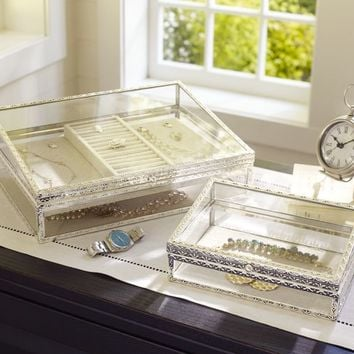 Antique-Silver Jewelry Boxes | Pottery Barn