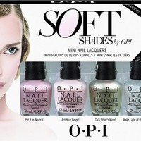OPI Nail Lacquer - Soft Shades Mini