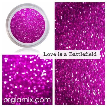 Love Is A Battlefield Glitter Pigment