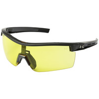 Under Armour UA Freedom Tactical Sunglasses Satin Carbon Gray Interchange Lenses