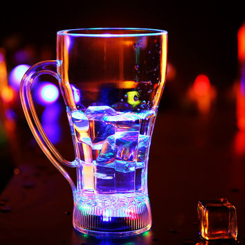Hot Sale Cute On Sale Coffee Hot Deal Drinks LED Lightning Noctilucent Cup [6258131846]