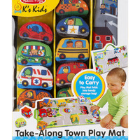 Melissa & Doug 10-pc. Take-Along Town Play Mat | Stage Stores