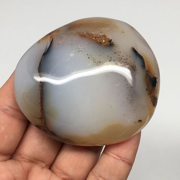 "138.1g, 2.5""x2.2""x1.1"" Natural Agate Crystal Dendritic Reiki @Madagascar, MSP798"