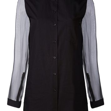 Damir Doma sheer sleeve shirt