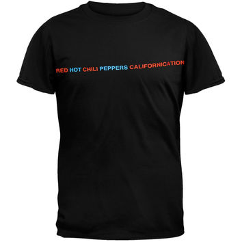 Red Hot Chili Peppers - 4 Photo T-Shirt