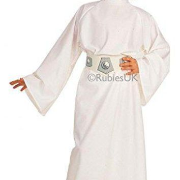 Rubies Star Wars Childs Deluxe Princess Leia Costume Medium