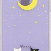 Strapya World : Sailor Moon Character Hard iPhone 4/4S Case (Luna and Artemis)