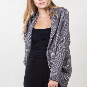 Sugar Lips In the Hood Slouchy Sweater Cardigan