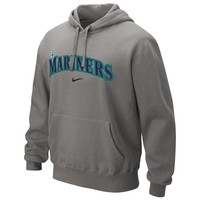 Seattle Mariners Nike Classic Pullover Hoodie – Silver