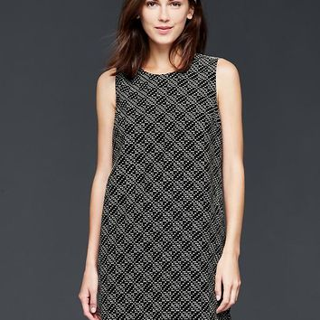 Gap Women Jacquard Shift Dress