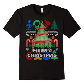 Christmas Tree Ugly Holiday T-shirt - Merry Christmas