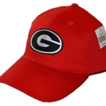 UGA Super G Design Red Baseball Hat | University of Georgia (UGA) HATS | UGA Gear |