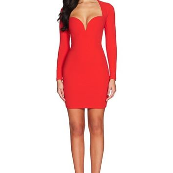 MADONNA LONG SLEEVE MINI : Buy Designer Dresses Online at Nookie